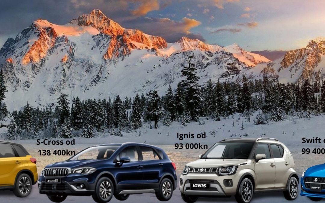 Posebna ponuda Suzuki vozila s lagera